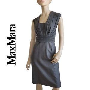 MaxMara Jersey and Wool Dress